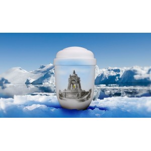 Biodegradable Cremation Ashes Funeral Urn / Casket - PORTA WESTFALICA