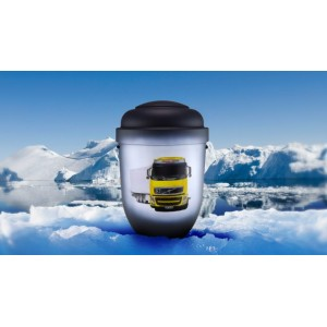 Biodegradable Cremation Ashes Funeral Urn / Casket - VOLVO TRUCK & TRAILER