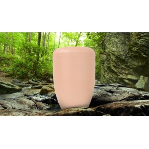 Biodegradable Cremation Ashes Funeral Urn / Casket - WILD APRICOT