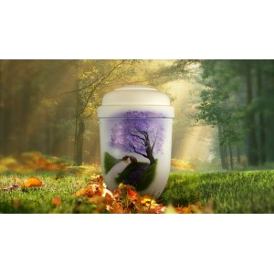 Biodegradable Cremation Ashes Funeral Urn / Casket - MEADOW STREAM