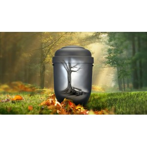 Biodegradable Cremation Ashes Funeral Urn / Casket - WOODLAND BENCH