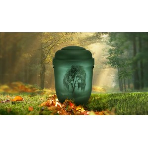 Biodegradable Cremation Ashes Funeral Urn / Casket - MOURNING BIRCH TREE