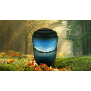 Biodegradable Cremation Ashes Funeral Urn / Casket - SEA VIEW