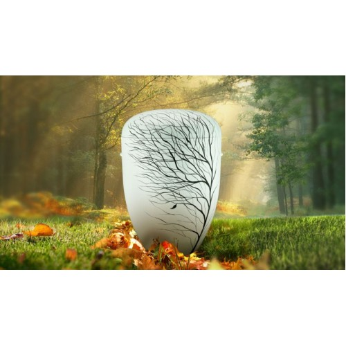 Biodegradable Cremation Ashes Funeral Urn / Casket - GONE WITH THE WIND