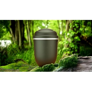 Biodegradable Cremation Ashes Funeral Urn / Casket - MONUMENT BLACK