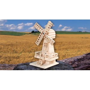 Handcrafted Cremation Ashes Funeral Urn / Casket - WINDMILL