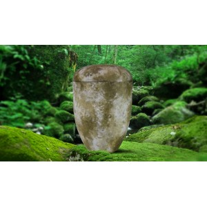 Biodegradable Cremation Ashes Funeral Urn / Casket - ISLAND SLATE