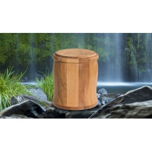Wild Oak Cremation Ashes Funeral Urn / Casket – THE SATORI
