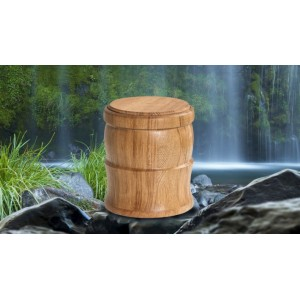 Wild Oak Cremation Ashes Funeral Urn / Casket – THE DUET