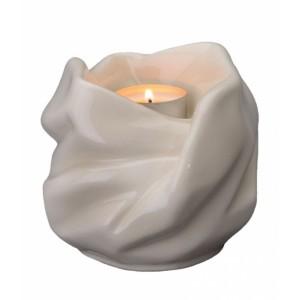 Our Holy Mother Eternal Flame - Ceramic Cremation Ashes Candle Holder Keepsake – Transparent
