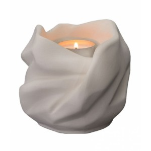Our Holy Mother Eternal Flame - Ceramic Cremation Ashes Candle Holder Keepsake – Unglazed