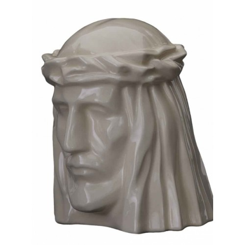 Jesus of Nazareth - Ceramic Cremation Ashes Urn – Transparent