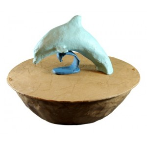 Biodegradable Cremation Ashes Urn – DOLPHIN SERENITY