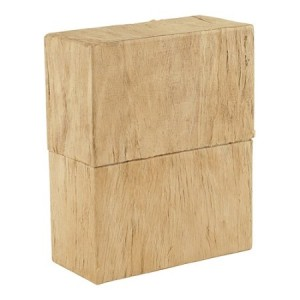 Simplicity Earthurn (Woodgrain Finish) - Biodegradable Urn