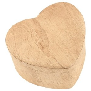 Woodgrain Unity Heart Earthurn (Mini / Small) - Creating a farewell that's meaningful to you