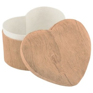 Woodgrain Unity Heart Earthurn ( Companion Size) – Suitable for 2 Sets of Cremation Ashes