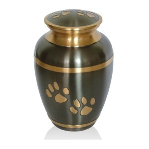 Brass - Pet Cremation Ashes Urn - Bronze (FREE ENGRAVING)