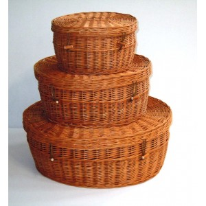 Biodegradable Willow Pet Caskets. Available in a number of sizes.