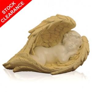 Sleeping Cherub Cremation Ashes Keepsake