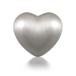 The Heart Pewter Keepsake Urn - FREE ENGRAVING