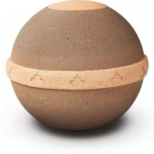 Round Biodegradable Urn - Land Burial