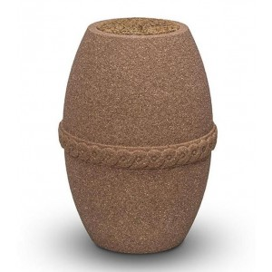 Biodegradable Barrel Urn - Sea and Land Burial