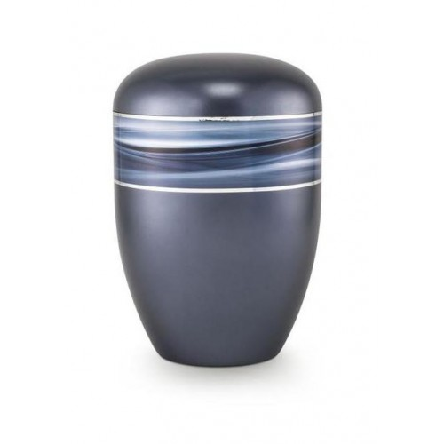 Biodegradable Urn (Wave Edition - Midnight Blue)