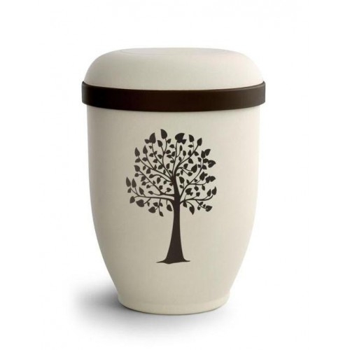 Biodegradable Urn (Natural Stone with Tree Design) From nature....to nature