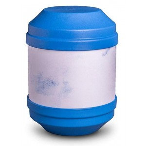 Biodegradable Cremation Ashes Urn with Writable Surface (Blue)