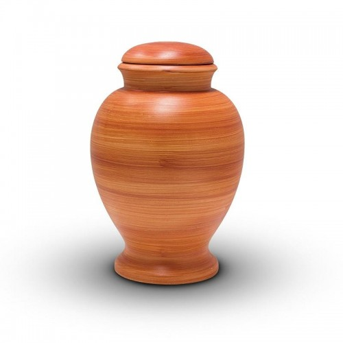 Biodegradable Urn (Burnt Orange)