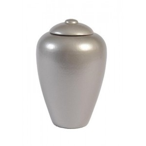 Biodegradable Urn (Classic Style - Silver/Grey)