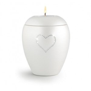 Swarovski Candle Holder Keepsake (Diamond White)