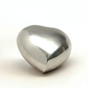 Keepsake Heart (Shiny Silver)