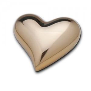 Keepsake Heart (Shiny Gold)