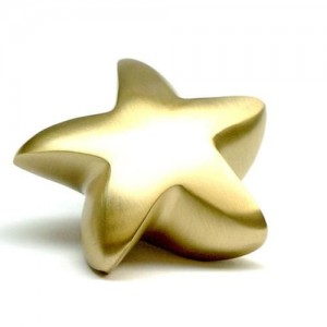 Keepsake Star (Brushed Gold)