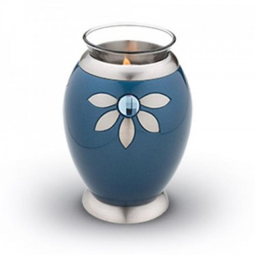 Candle Holder Keepsake (Blue)