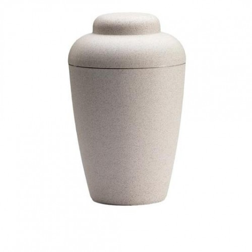 "Biodegradable ""Nature"" Urn (White)"