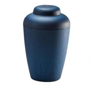 "Biodegradable ""Nature"" Urn (Blue)"