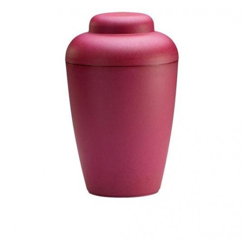 "Biodegradable ""Nature"" Urn (Red)"