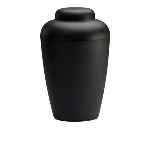 "Biodegradable ""Nature"" Urn (Black)"