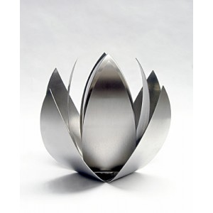 Stainless Steel RVS Lotus Flower Urn