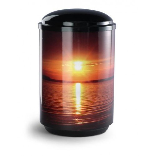 Steel Urn (Peaceful Sunset)