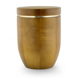 Wooden Urn (Flat Top in Teak)