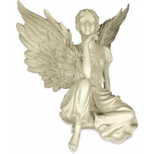 Thoughtfulness Home & Garden Angel Statue by Angel Star