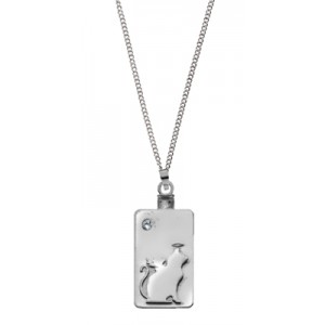 Forever In Our Hearts - CAT PENDANT KEEPSAKE