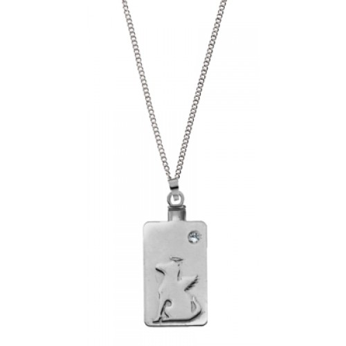 Forever In Our Hearts - DOG PENDANT KEEPSAKE