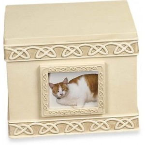 Weatherproof (Outdoor / Indoor Use) - Pet Keepsake Box - Urn with small photoframe
