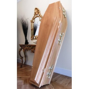 Milano Custom Made - Decorative Riased Lid Coffins