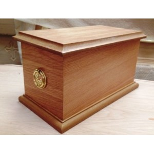Quality Wooden Cremation Ashes Casket. (LTO)