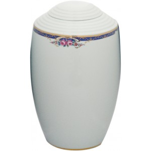 Gaya Porcelain Cremation Ashes Urn